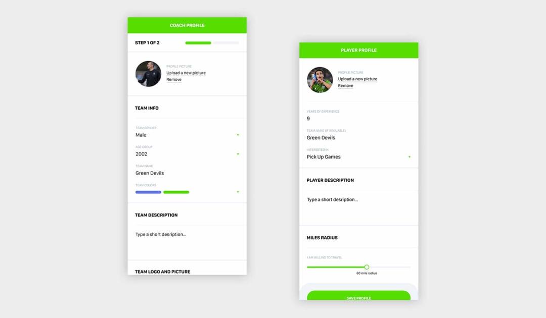 Custom-profile-development