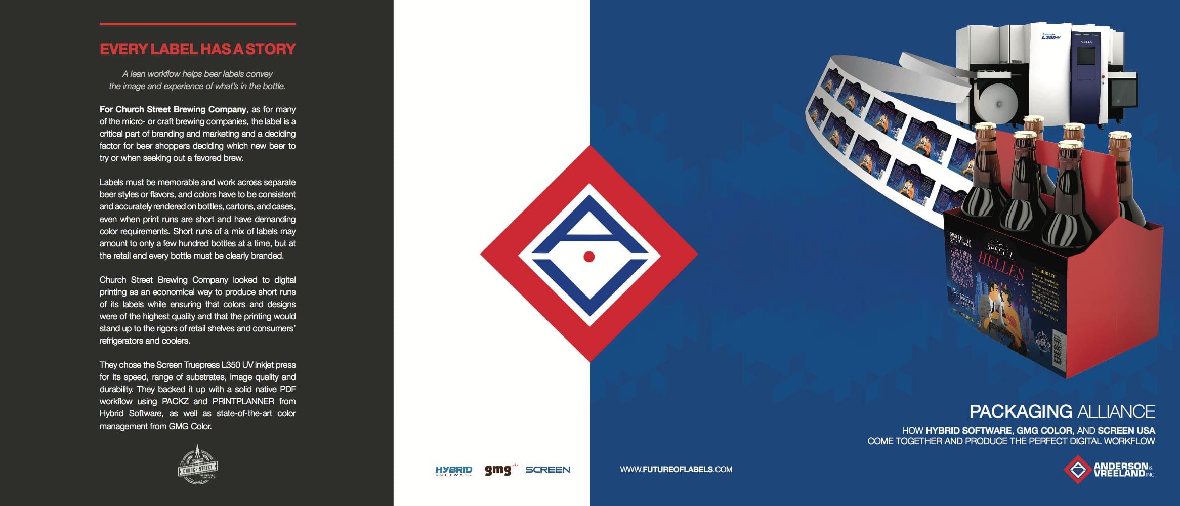 Digital Workflow Brochure Trifold