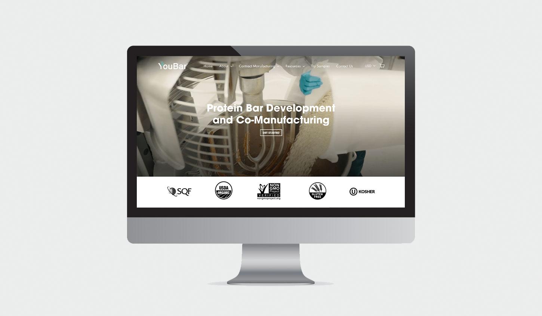 YouBar Homepage Design