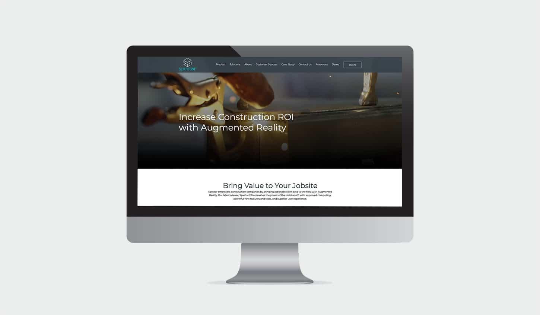 Spectar Homepage