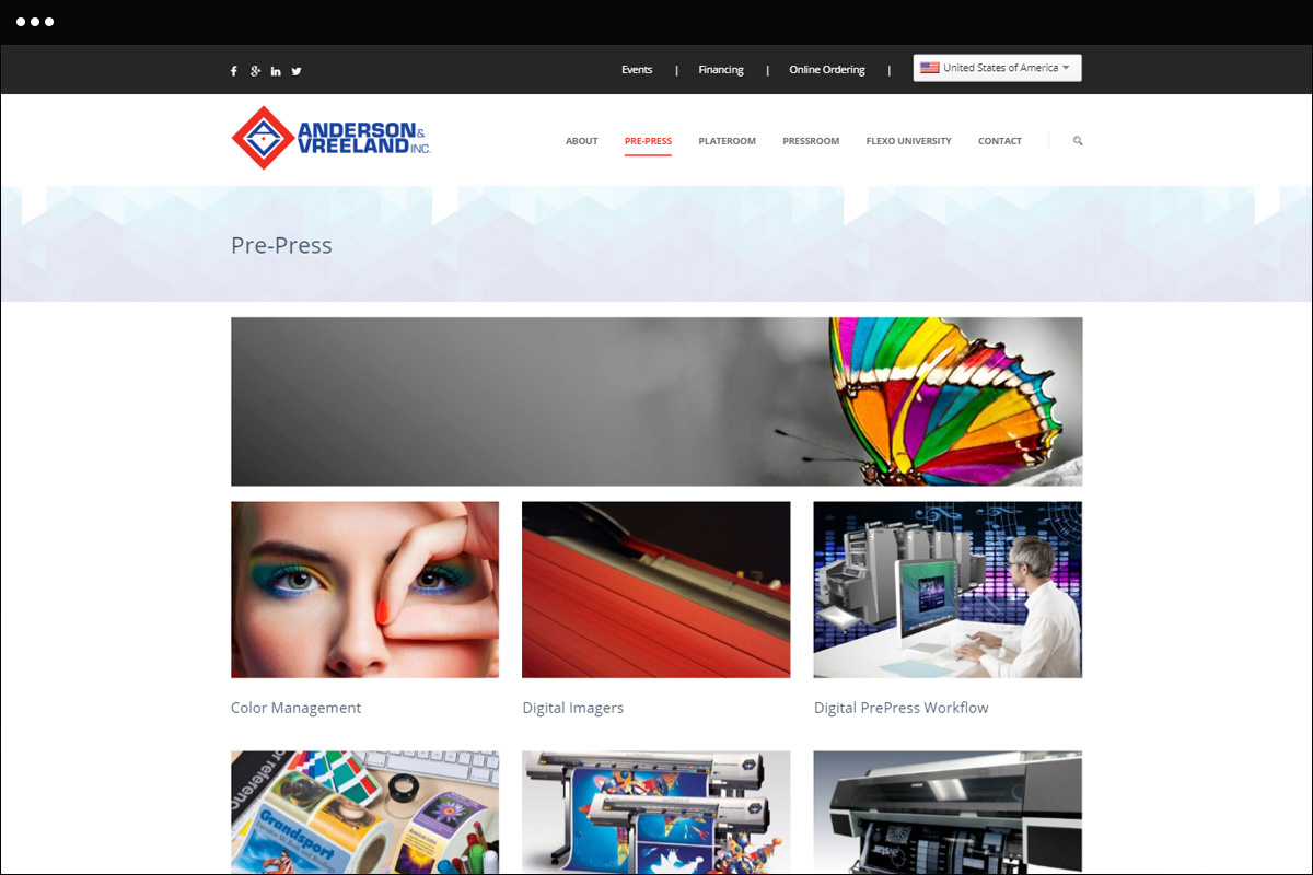 Pre Press Page Design