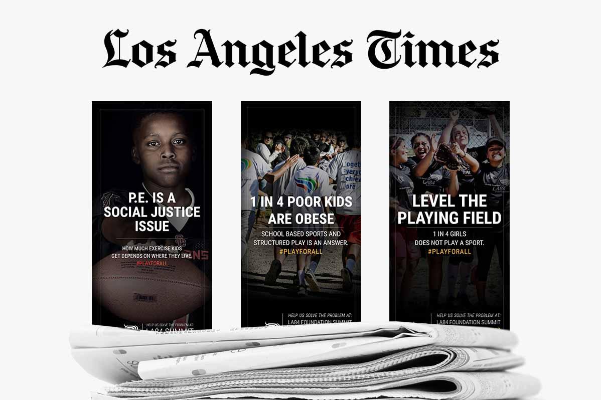 LA Times Ad Series