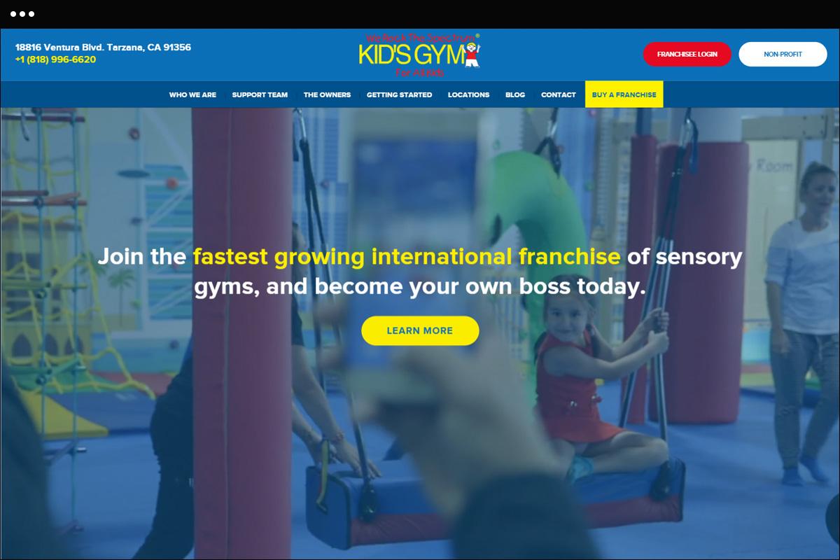 WRTS Franchise Home Page Design