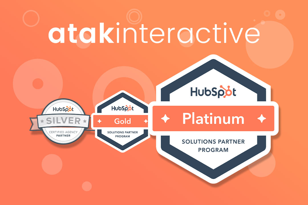 ATAK Interactive Named HubSpot Platinum Agency